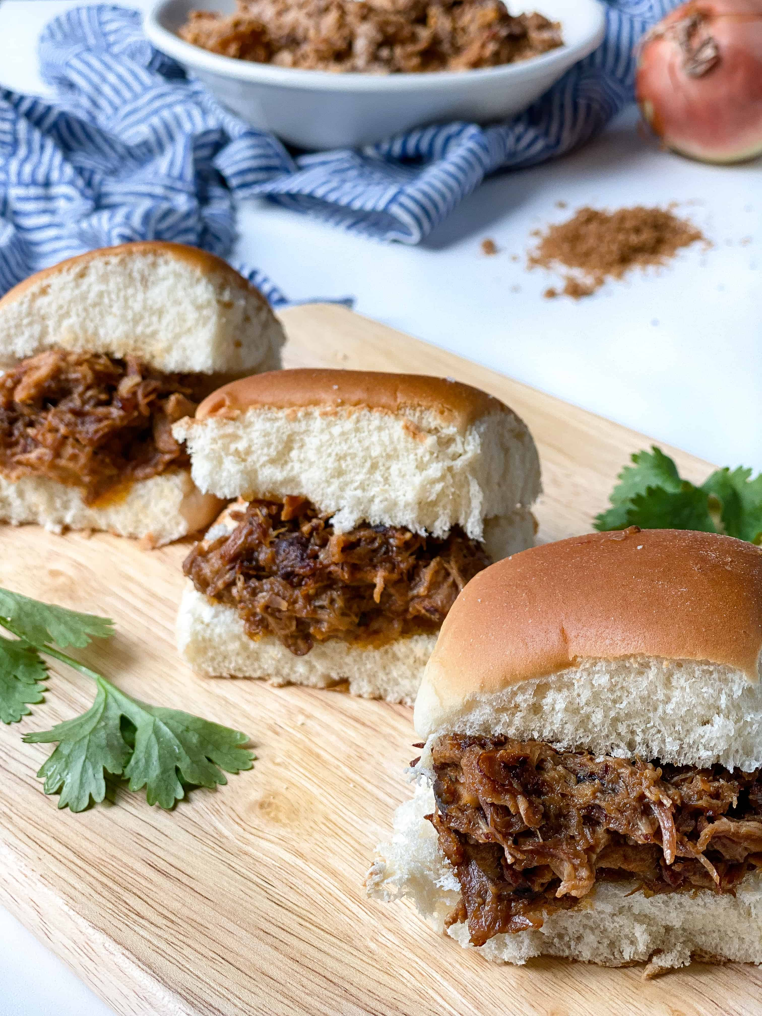 BBQ Pulled Pork with Pineapple & Soy (Instant Pot)