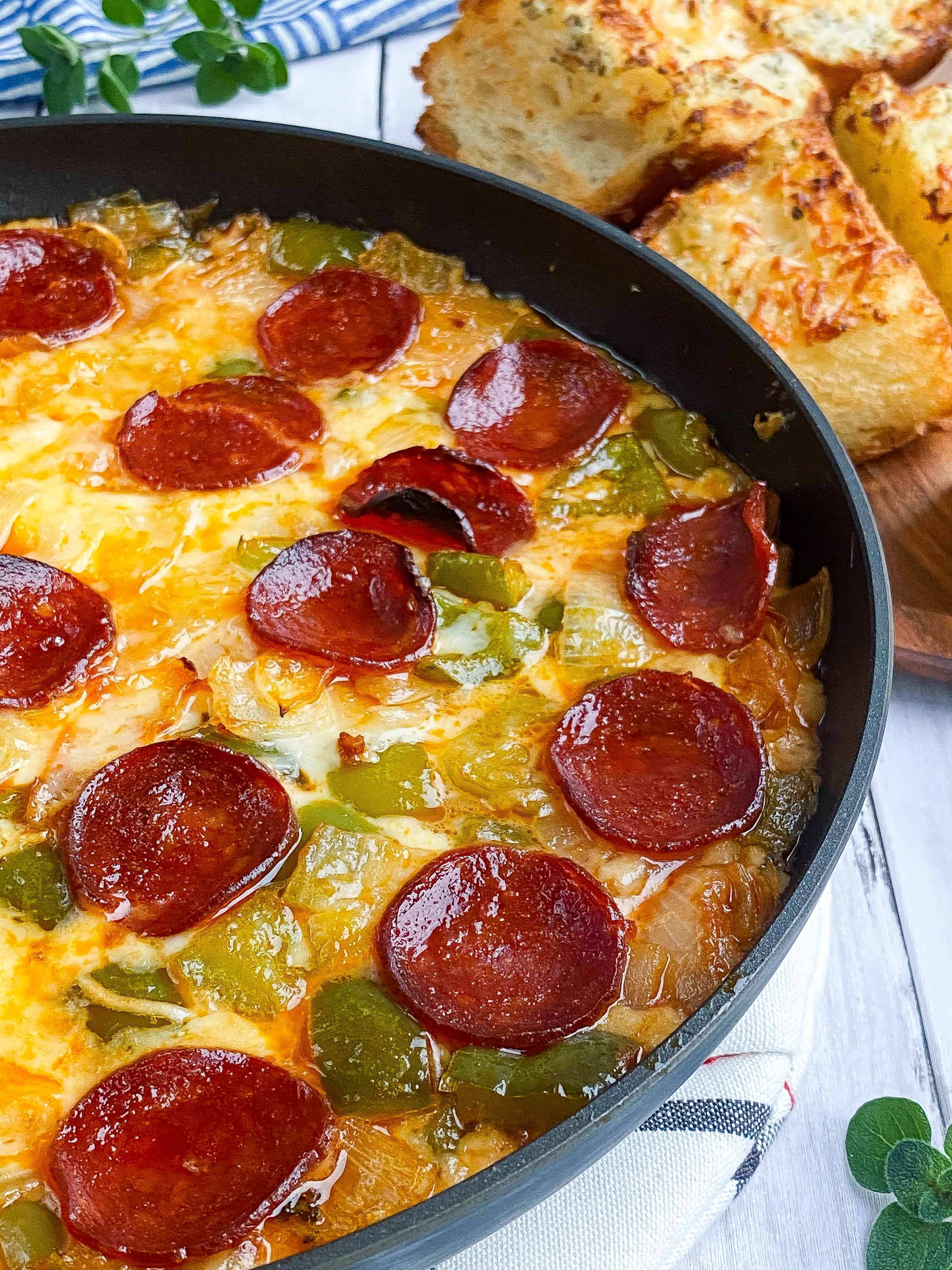 The Best Pizza Dip (Extra Cheesy, Loaded)