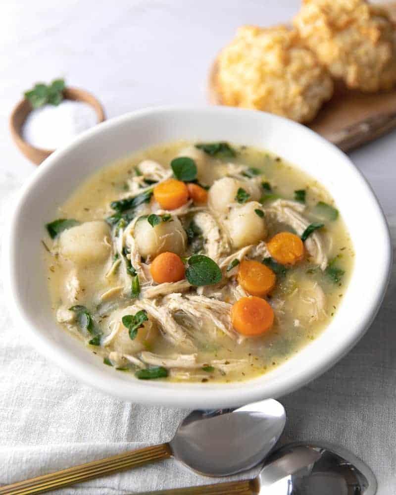 Cauliflower Gnocchi Soup