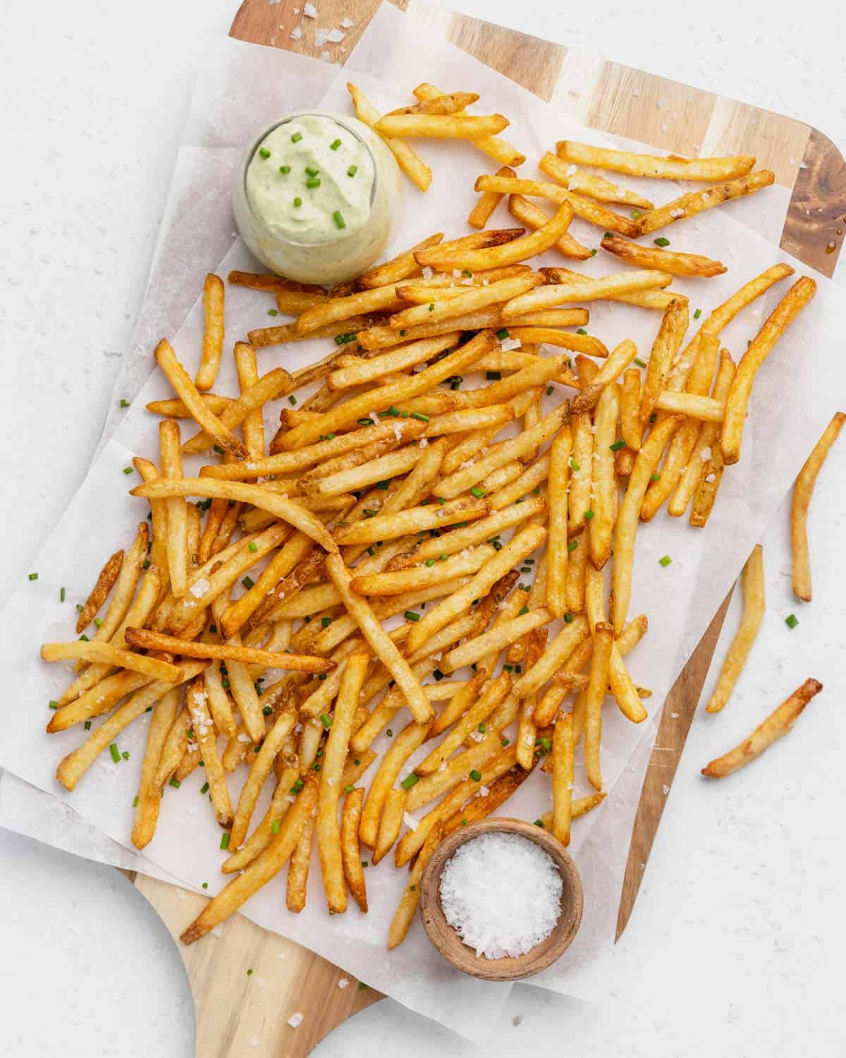 finished fries